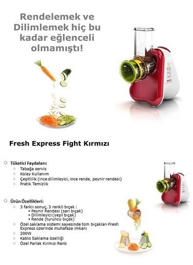 Tefal Fresh Express Fight Doğrayıcı Rende Renkli